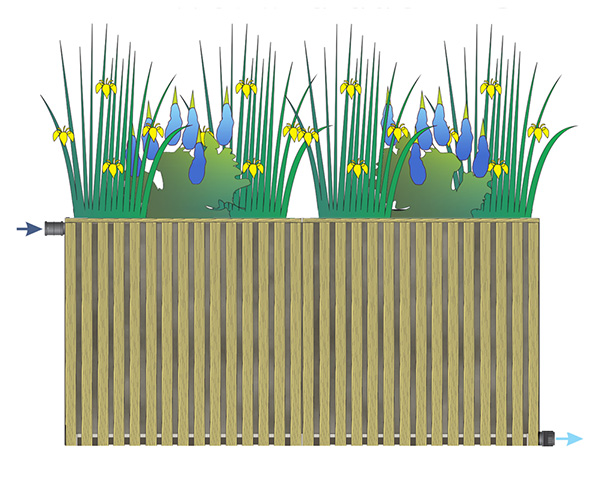 helofytenfilters Tiny Wetland duo IB Chout